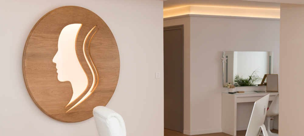 Logo en bois